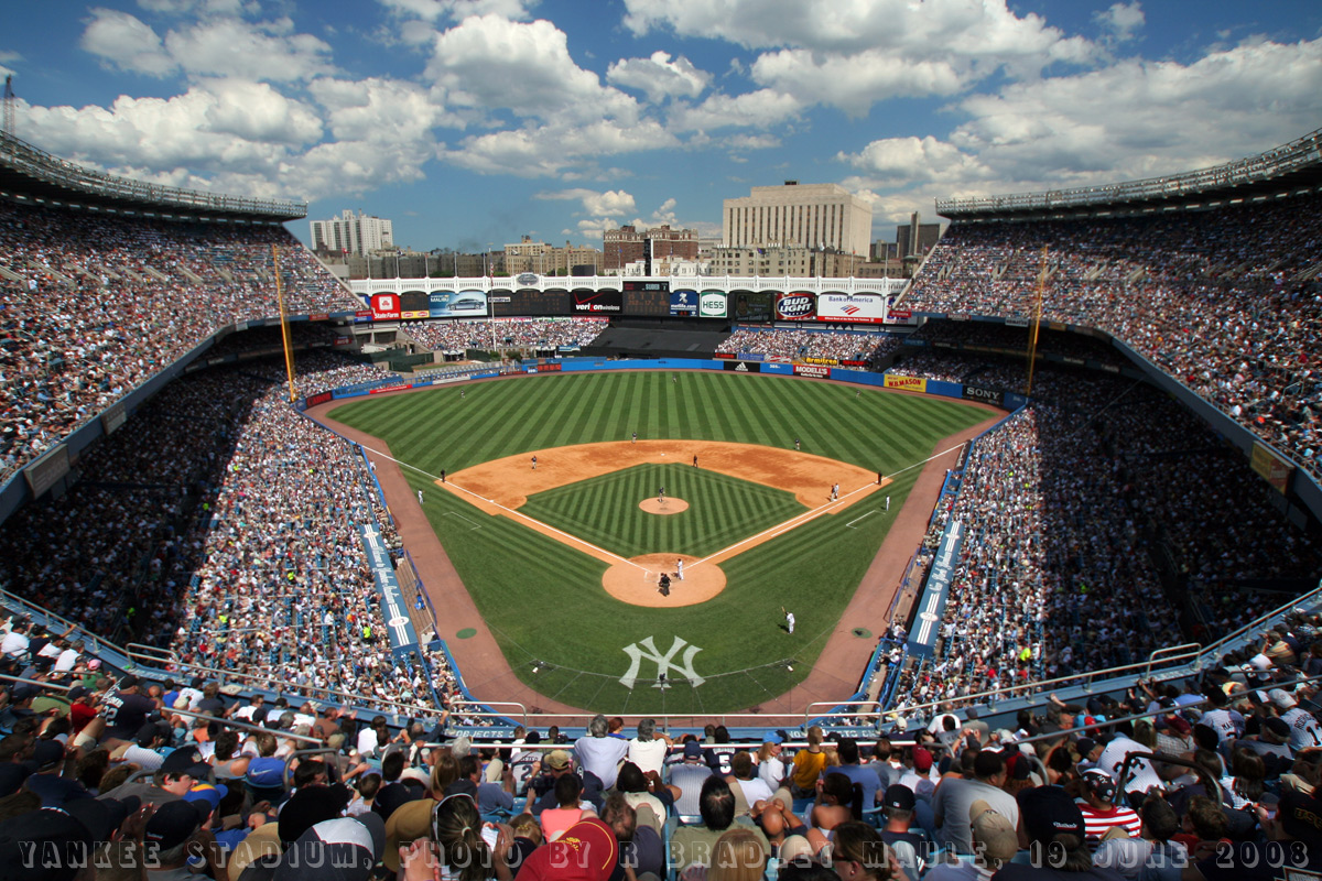 Yankee stadium wallpaper - Wallpaper Fever - 1200 x 800