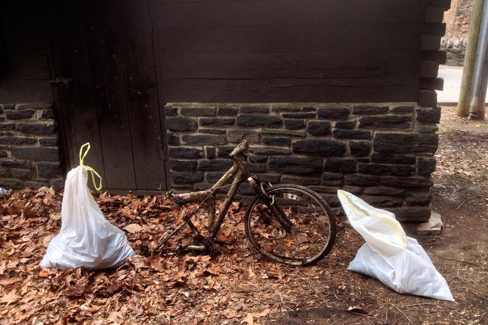 Free bike, slightly used