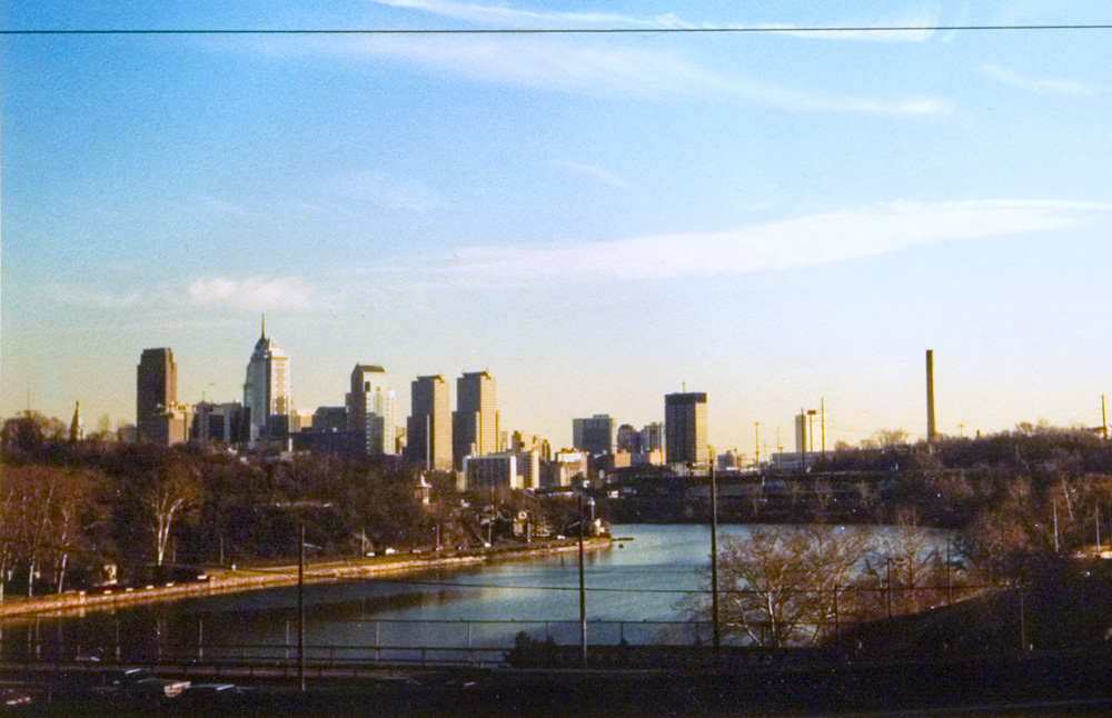 Philly Skyline Commuter Skyline, 2000 | Photo: Bradley Maule