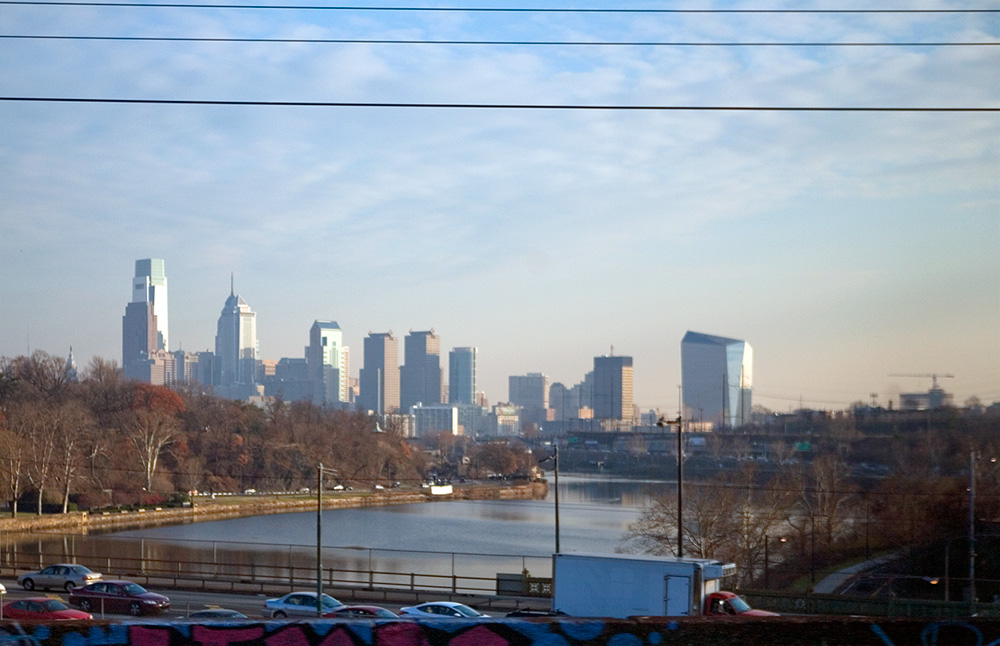 Philly Skyline Commuter Skyline, 2014 | Photo: Bradley Maule