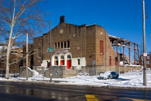 West Philadelphia Jewish Community Center, 1927-2014 | Photo: Bradley Maule
