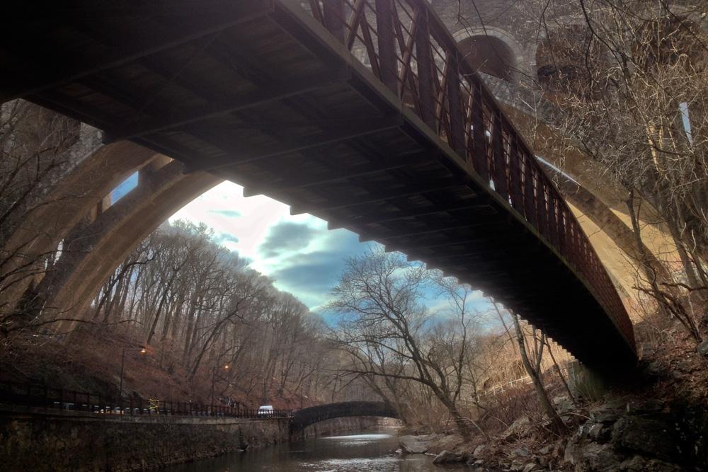 Three bridges, one iphone HDR jawn