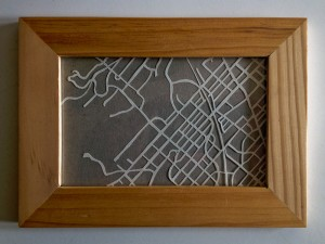 Mt Airy in paper cut by the one and only EmmaF-C