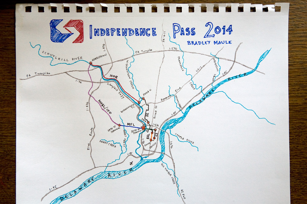 SEPTA Archives Philly Skyline - Philly septa map