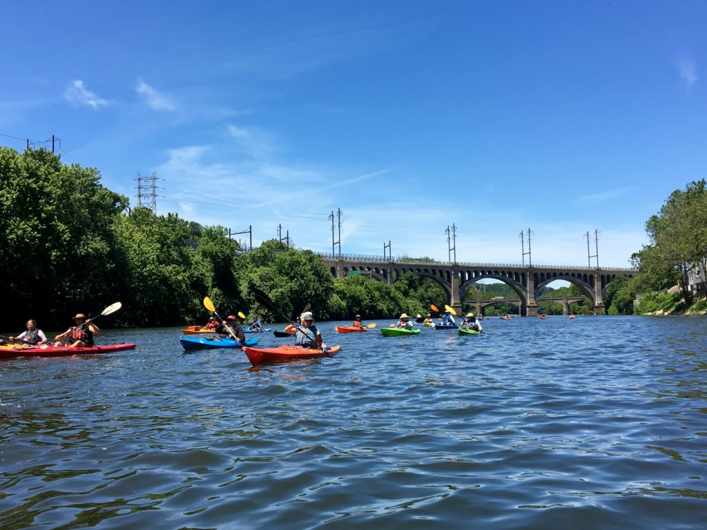 Sojourners and Manayunk Bridge.