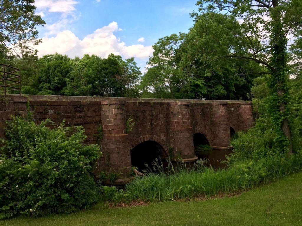 Allegheny Aqueduct, built 1824.