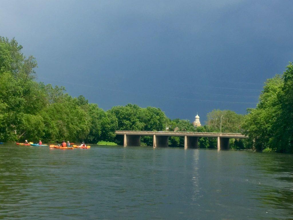 Pottstown ahead, storm incoming.
