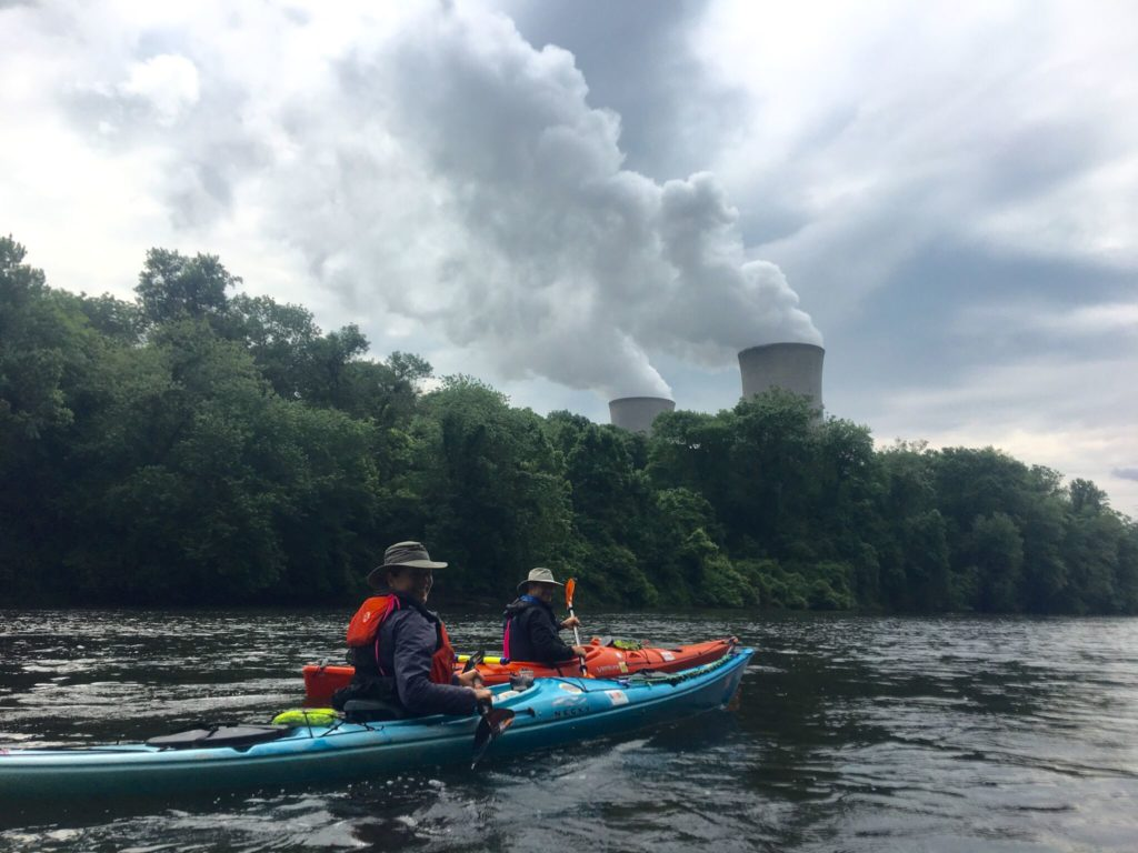 Doug and Chris enjoy Sojourning the Schuylkill in all habitats.